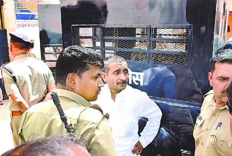 पूर्व भाजपा विधायक कुलदीप सिंह सेंगर (फााइल फोटो)