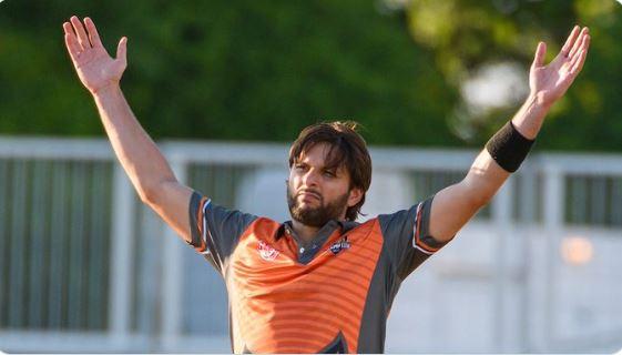 पाकिस्तानी खिलाड़ी शाहिद अफरीदी