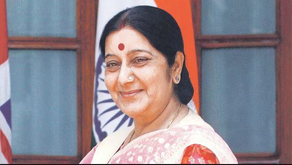 सुष्मा स्वराज (फाइल फोटो)
