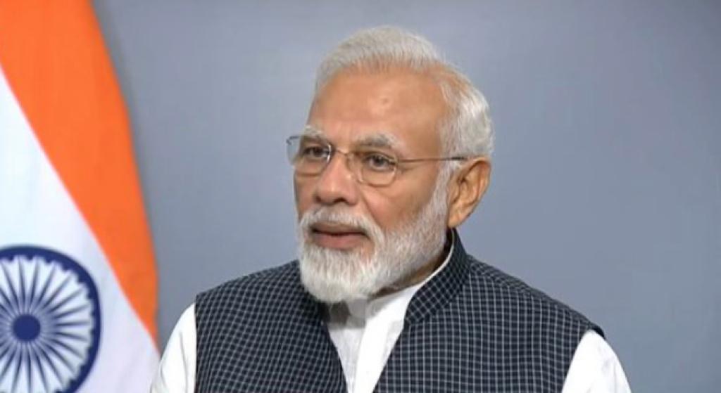 देश के नाम अपने संबोधन के दौरान प्रधानमंत्री नरेन्द्र मोदी