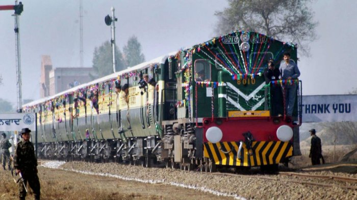 साढ़े चार घंटे देरी से दिल्ली पहुंची समझौता एक्सप्रेस
