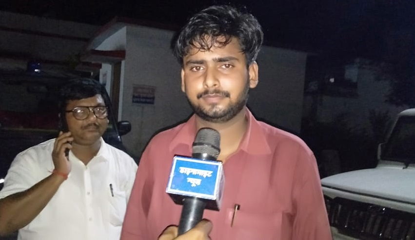 घटना के तुरंत बाद 2 अगस्त को कोतवाली में चंचल चौबे (फाइल फोटो)