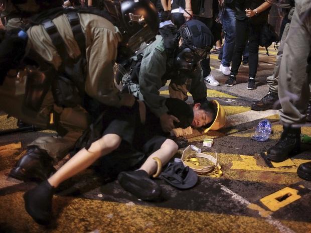 हांगकांग में प्रदर्शनकारी (फाइल फोटो)