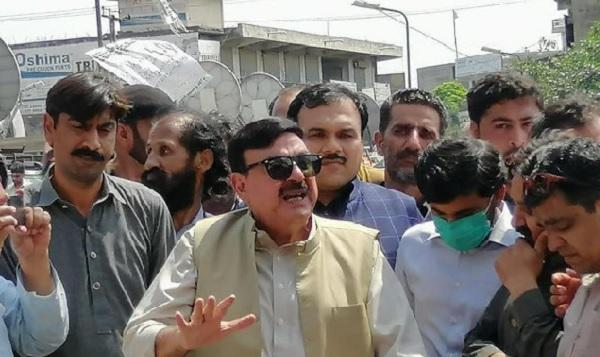 पाकिस्तान के रेलमंत्री