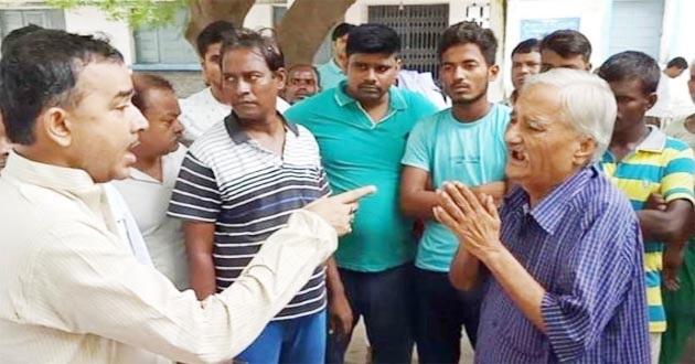 JDU नेता की दबंगई
