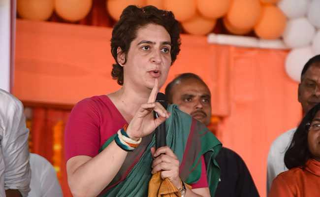 कांग्रेस  प्रियंका गांधी वाड्रा