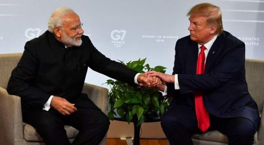 प्रधानमंत्री नरेंद्र मोदी और अमेरिकी राष्ट्रपति डोनाल्ड ट्रम्प