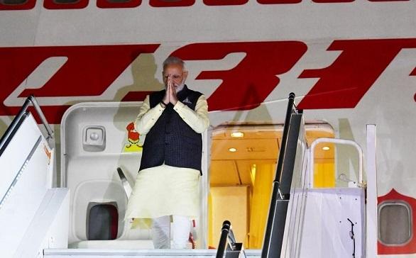 न्यूयॉर्क पहुंचे PM नरेंद्र मोदी