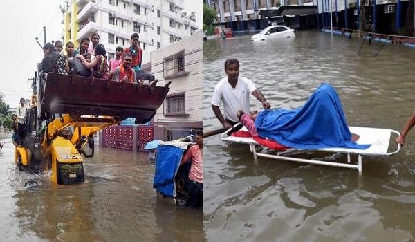 बिहार में आफत की बारिश