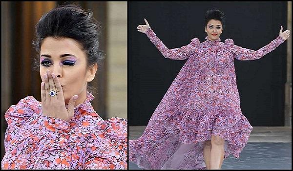 पेरिस फैशन वीक में ऐश्वर्या राय