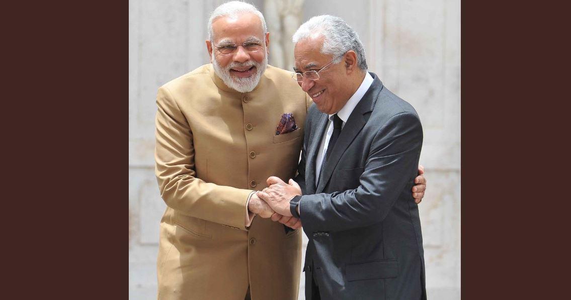 PM मोदी और पुर्तगाल के प्रधानमंत्री