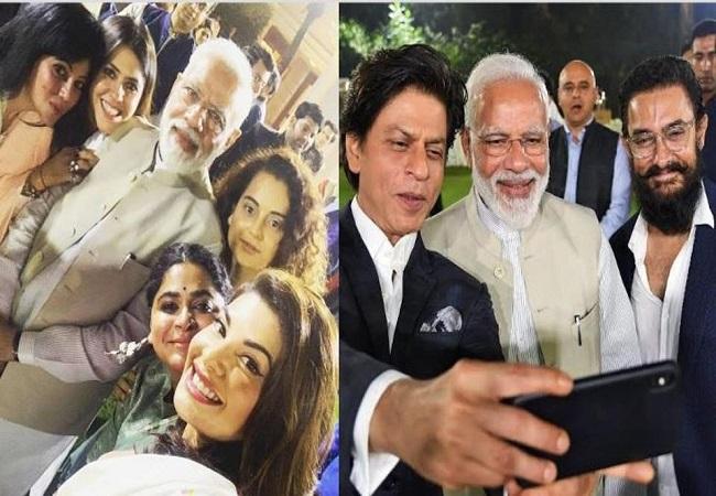प्रधानमंत्री नरेंद्र मोदी की  बॉलीवुड शख्सियत से मुलाकात