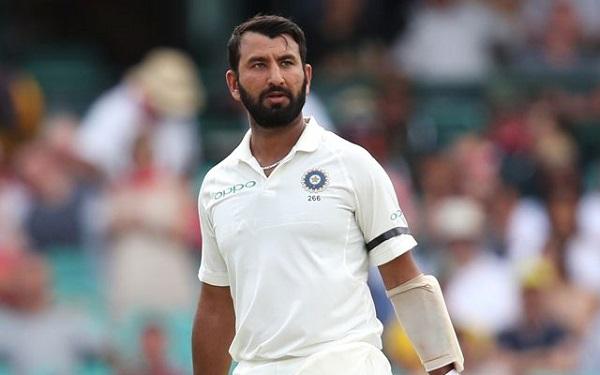 भारतीय क्रिकेटर चेतेश्वर पुजारा