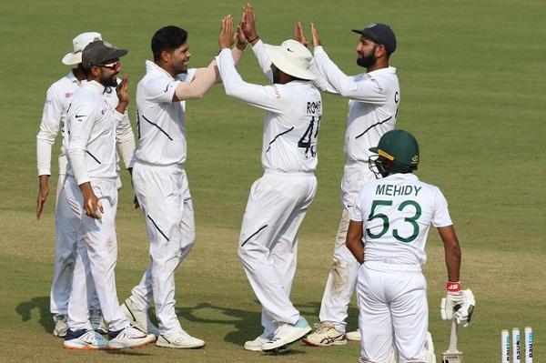 टीम इंडिया ने दर्ज की जीत