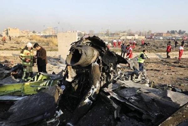 यूक्रेन विमान हादसा