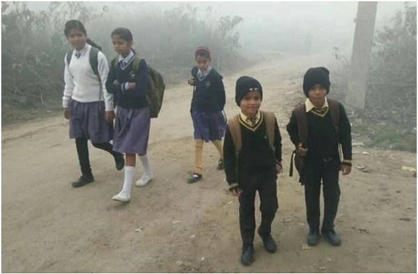 ठंड की वजह से स्कूल रहेंगे बंद