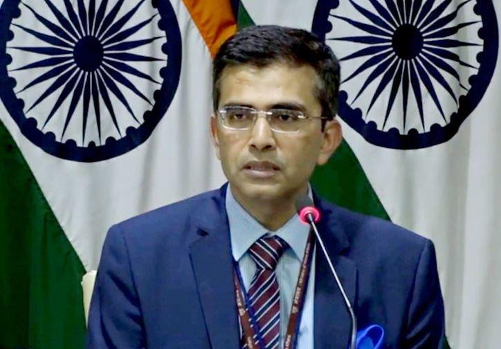 विदेश मंत्रालय के प्रवक्ता रवीश कुमार