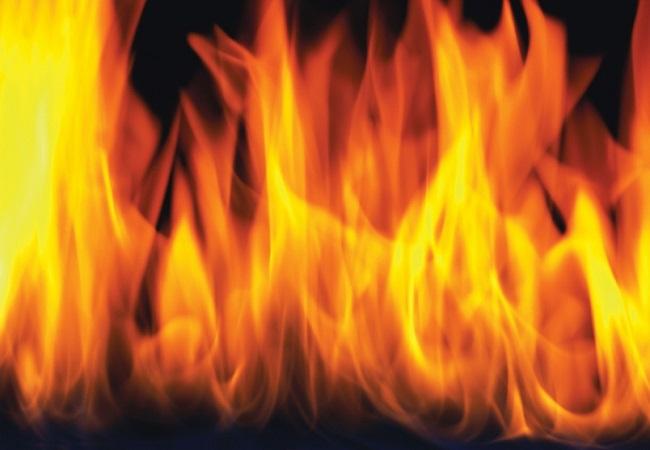 कारखाने में लगी आग (फाइल फाटो)