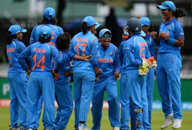 भारतीय महिला टीम ने लगाया जीत का चौका