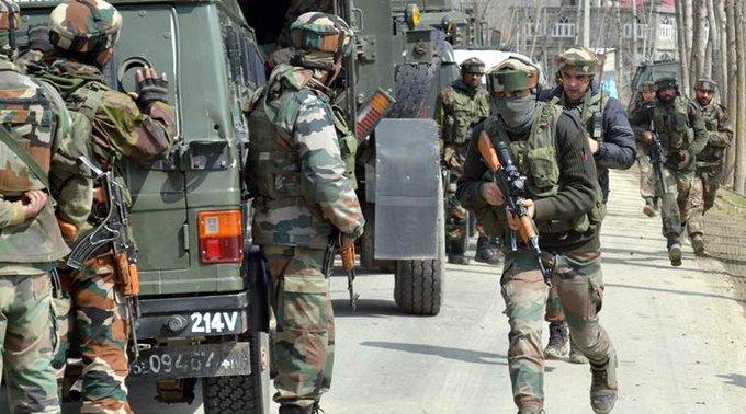शोपियां में सुरक्षाबलों और आतंकवादियों के बीच मुठभेड़ (प्रतीकात्मक फोटो)