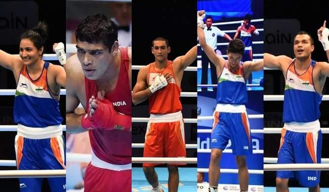 भारत के पांच मुक्केबाजों ने हासिल किया ओलंपिक कोटा