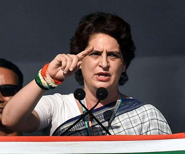 प्रियंका गांधी वाड्रा (फाइल फोटो)