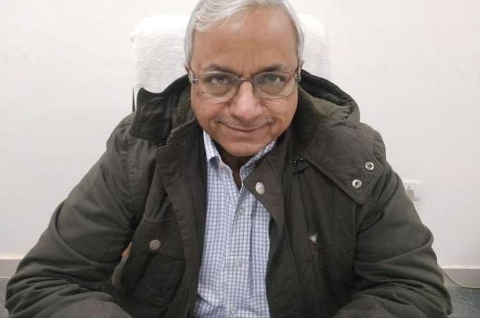 सीएमओ राजेश मोहन श्रीवास्तव
