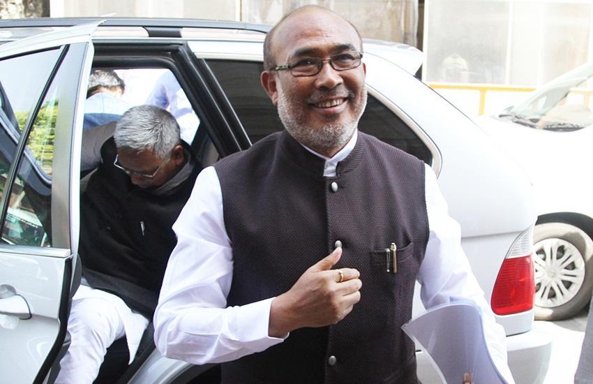 मुख्यमंत्री एन.बिरेन सिंह