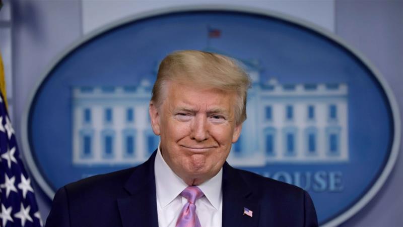 अमेरिका के राष्ट्रपति डोनाल्ड ट्रम्प