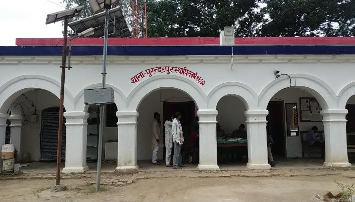 आरोपियों की गिरफ्तारी में जुटी पुरन्दरपुर थाना पुलिस