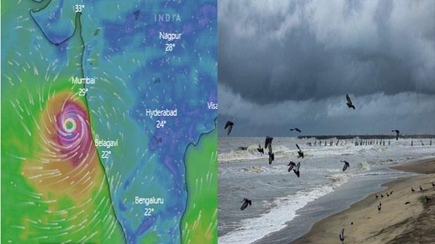 चक्रवाती तूफान निसर्ग (फाइल फोटो)