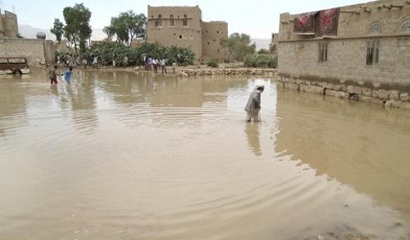 यमन के हद्रामॉत प्रांत में भारी बारिश और बाढ़ ( फाइल फोटो)
