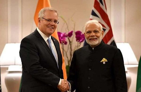 पीएम मोदी और ऑस्ट्रेलिया के प्रधानमंत्री (फाइल फोटो)