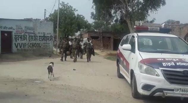 सर्च अभियान में जुटी पुलिस