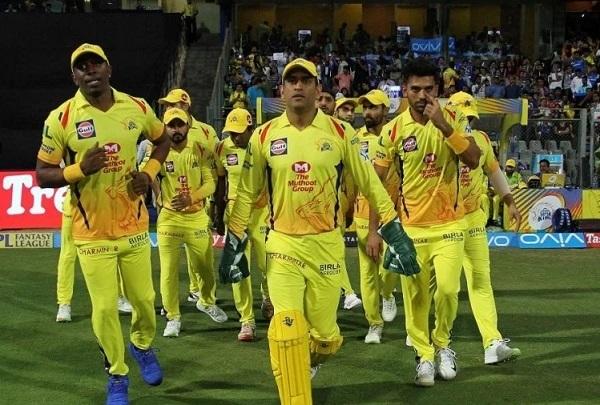 चेन्नई सुपर किंग्स टीम