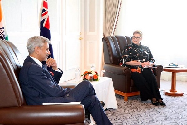 भारत और ऑस्ट्रेलिया के विदेश मंत्री