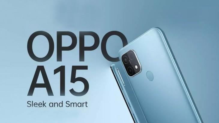 OPPO A15 स्मार्टफोन