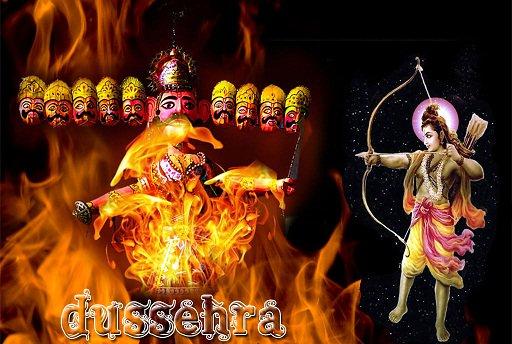 देश भर में धूमधाम से मनाया जा रहा है दशहरा
