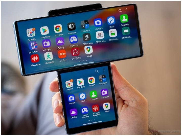 रोटेटिंग स्क्रीन वाला LG Wing स्मार्टफोन
