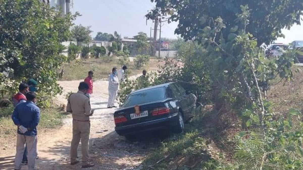 हिमाचल प्रदेश के गवर्नर की गाड़ी दुर्घटनाग्रस्त,