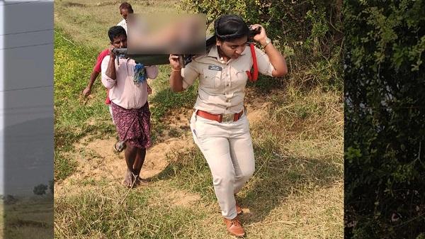 आंध्र प्रदेश में एक महिला सब इंस्पेक्टर ने कायम की मिसाल