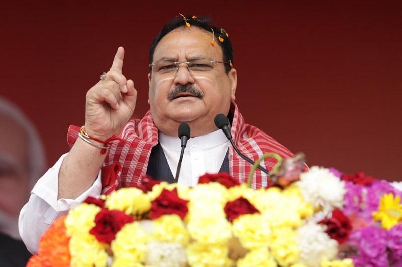 भाजपा अध्यक्ष जेपी नड्डा ने बंगाल में किया परिवर्तन यात्रा का आगाज