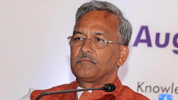 उत्तराखंड के मुख्यमंत्री त्रिवेंद्र सिंह रावत  (फाइल फोटो)
