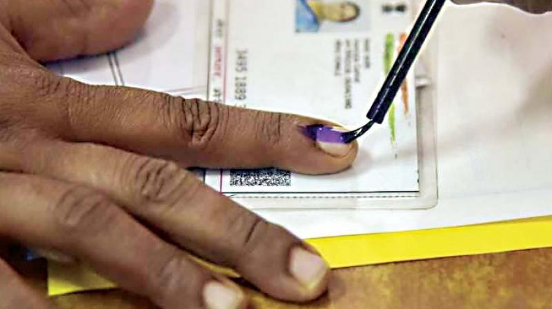 बसंती के अलावा अन्य कुछ लोगों ने भी डाला वोट (फाइल फोटो)