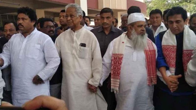 कांग्रेस का सहयोगी दल एआईयूडीएफ के नेता जयपुर शिफ्ट (फाइल फोटो)