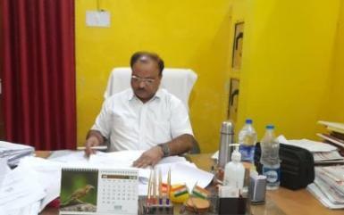 विनोद कुमार की आक्सिमक मौत से विभाग में शोक की लहर (फाइल फोटो)