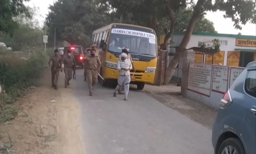 रायपुर पंडित गांव में बूथ पर हुए विवाद के मामले में पुलिस ने कार्यवाही