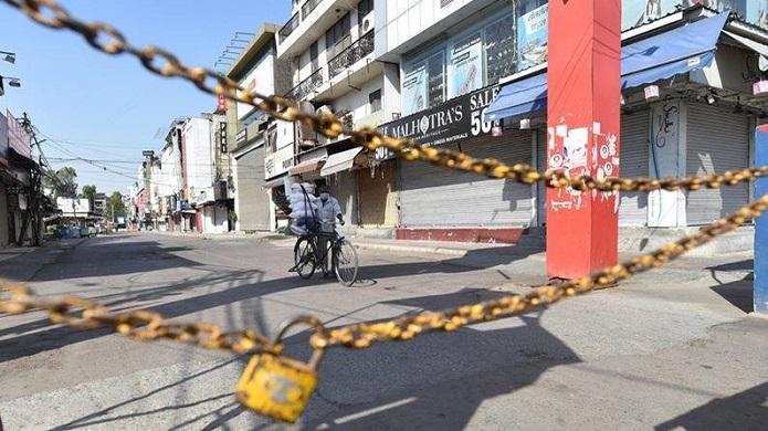 हरियाणा के कई जिलों में वीकेंड लॉकडाउन लागू (फाइल फोटो)
