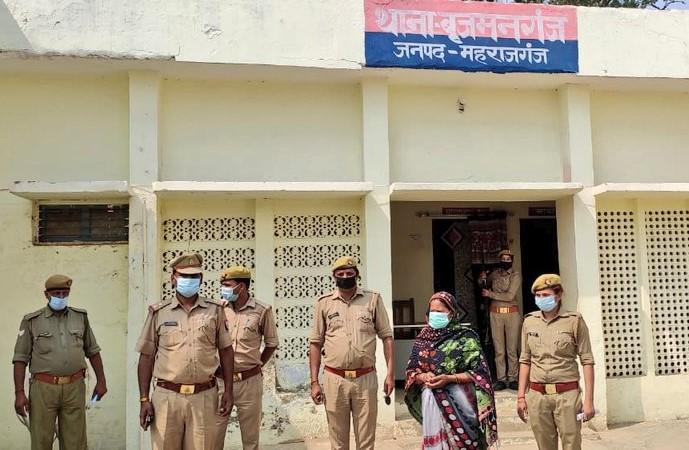 पुलिस ने हत्यारोपी महिला को किया गिरफ्तार