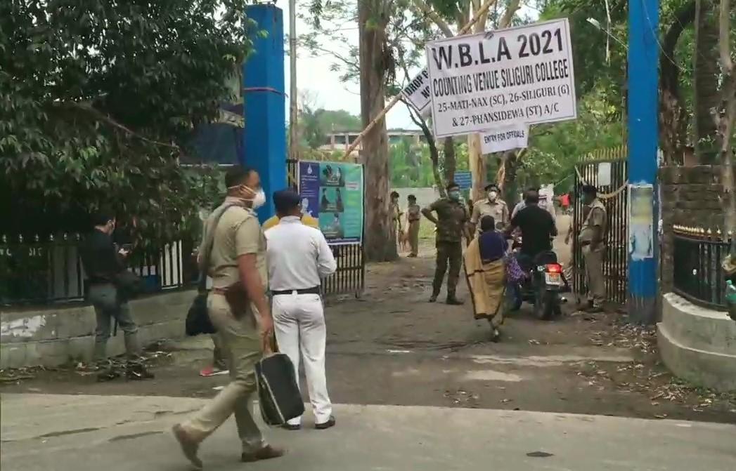 बंगाल में मतगणना के मद्देनजर कड़ी सुरक्षा